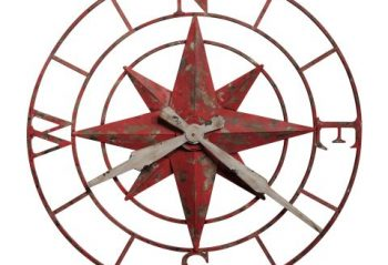 Howard Miller Compass Rose Clock