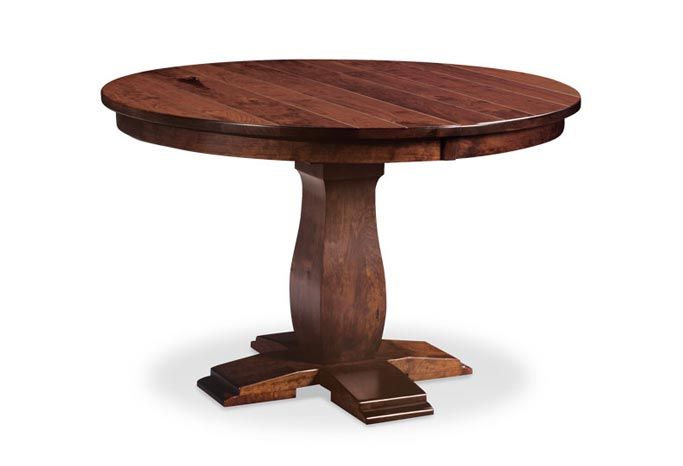 Avalon Round Single Pedestal Table