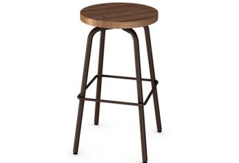 Amisco Buton Bar Stool