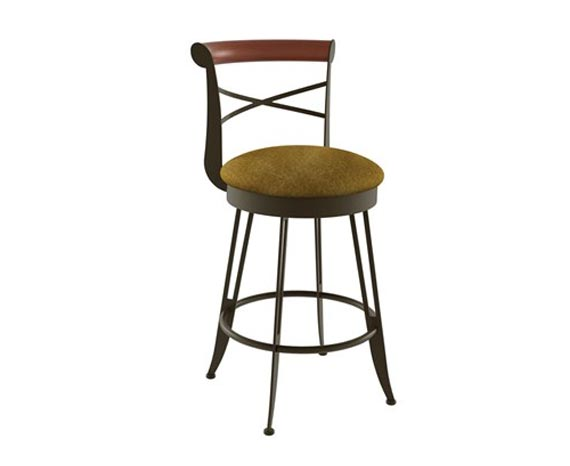 Amisco Historian Bar Stool