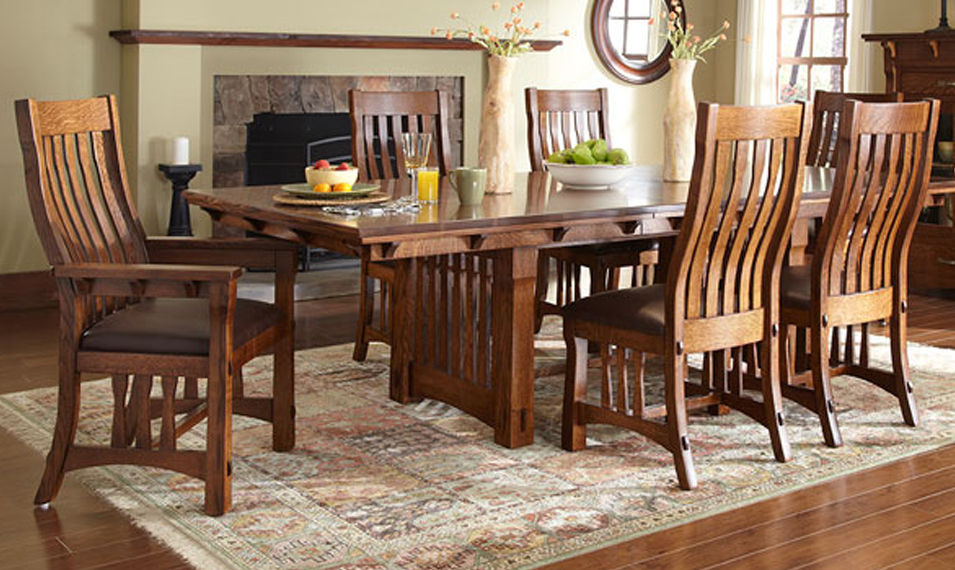 Custom table and chair by Simply Amish