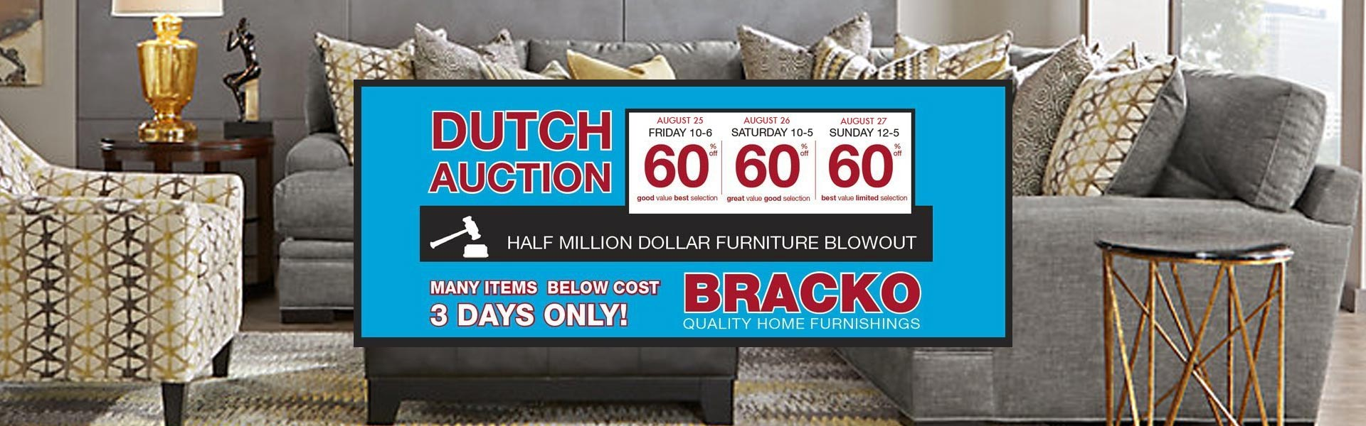 Dutch Auction Header