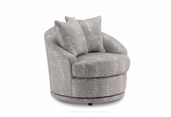 Picture of the Alanna Swivel Barrel Chair