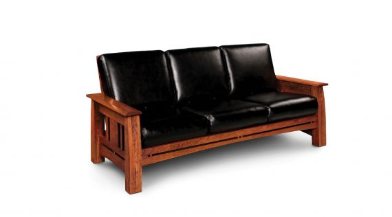 Picture of the Simply Amish Aspen Sofa Recliner