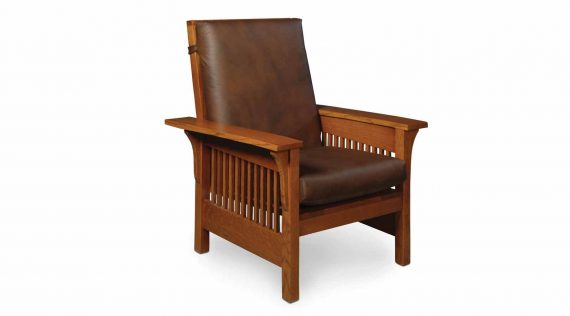 Picture of a Simply Amish Prairie Mission Lounge Chair
