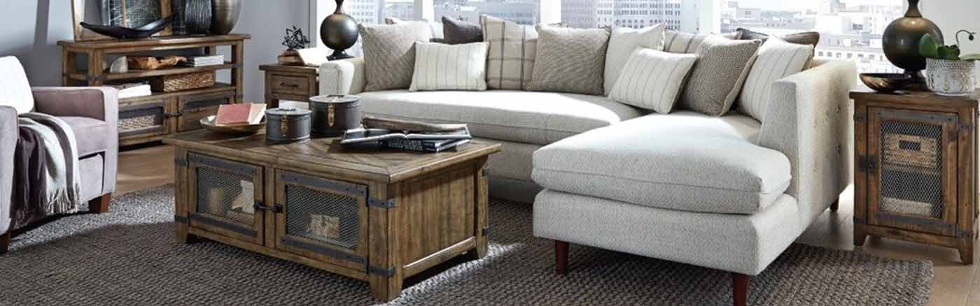 Picture of magnussen furniture in a living room
