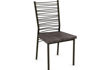 Amisco Crescent Dining Room Chair