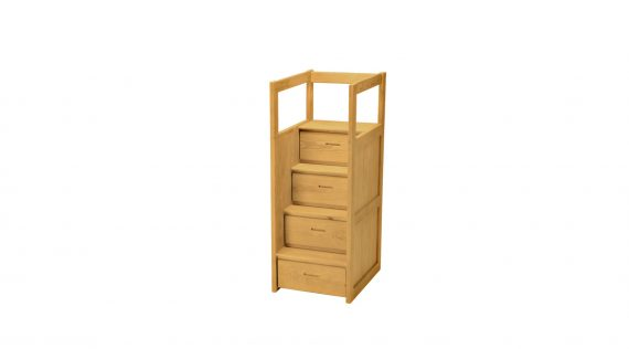Picture of the Crate Bunk Bed Staircase
