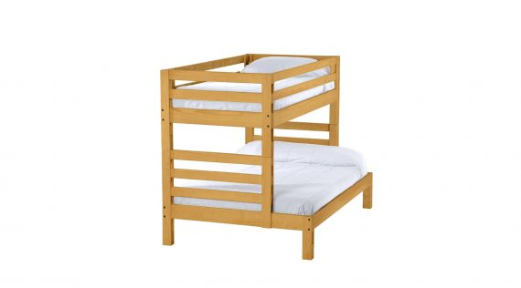 Create Ladder end bunk bed - Twin over Full