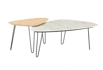 Picture of the Four Hands Warrington Nesting Coffee Table