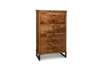 Picture of a Handstone Cumberland 6 Drawer Highboy Chest
