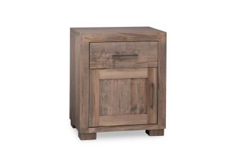 Picture of a Handstone Steel City Nightstand