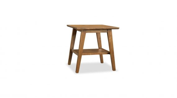 Picture of the Handstone Tribeca Leg End Table with Shelf
