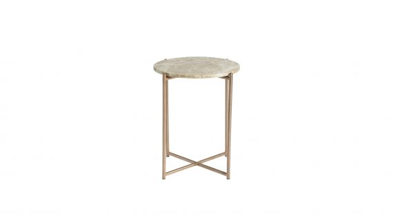 Picture of the LH Imports Venice Short Round End Table