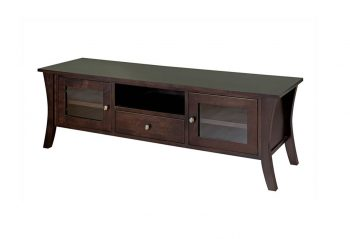 Picture of a Sahara Silhouette Wide Maple TV Stand