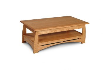 Picture of a Simply Amish Aspen Coffee Table with Inlay