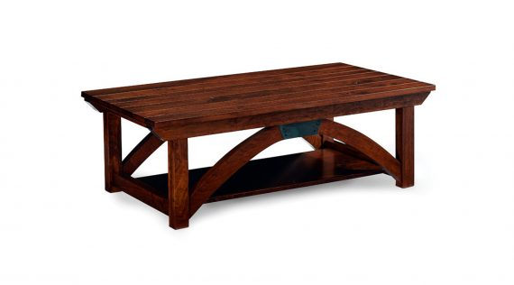 Simply Amish Trestle Bridge Coffee Table