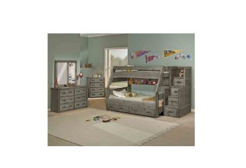 Trendwood High Sierra Twin/Full Bunk Bed