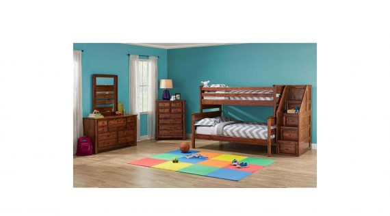 Picture of a Trendwood Laguna Twin/Full Bunk Bed