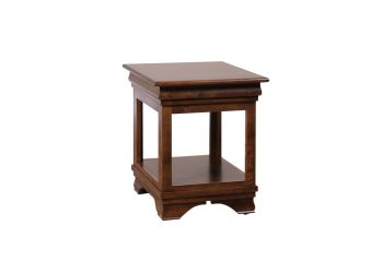 Picture of a Woodworks Morgan Rectangular End Table