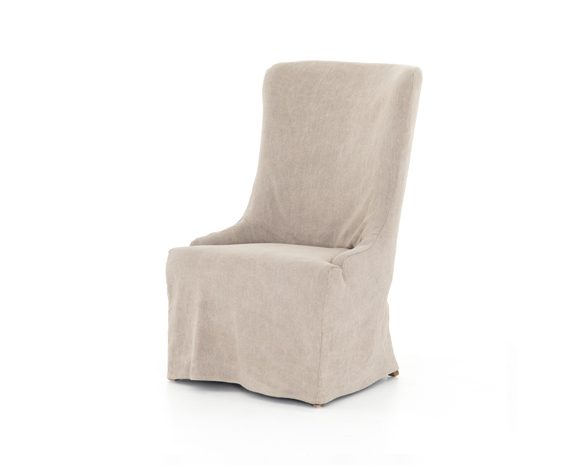 Picture of a Four Hands Elouise Slip Covered Dining Chair