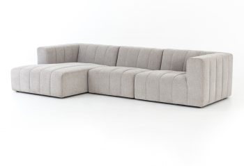 Picture of a Four Hands Langham Channeled 3-PC Sectional