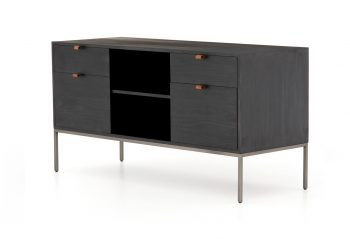 Picture of a Four Hands Trey Modular Filing Credenza