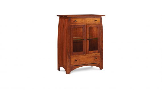 Picture of a Simply Amish Aspen 2-Door Dining Cabinet