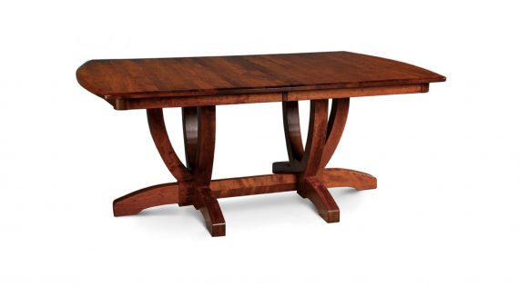 Picture of a Simply Amish Brookfield Double Pedestal Table