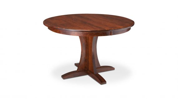 Picture of a Simply Amish Grace Pedestal Table