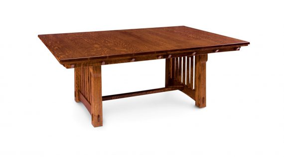 Picture of a Simply Amish Maryan Trestle Table