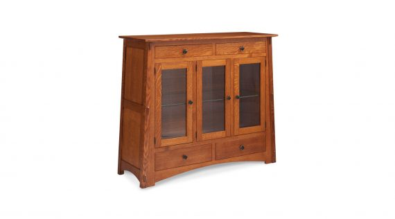 Picture of a Simply Amish McCoy 3-Door Dining Cabinet