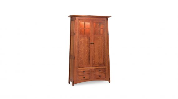 Picture of a Simply Amish McCoy Bookcase