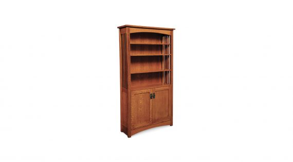 Picture of a Simply Amish Mission Bookcase