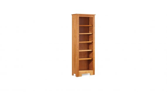 Picture of a Simply Amish Shaker Narrow Bookcase