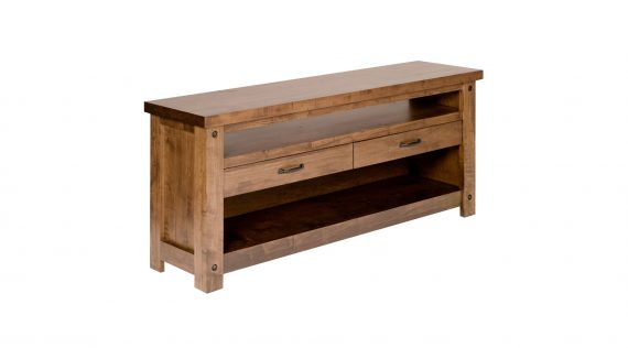 Picture of a Woodworks Hartley Bay TV Console