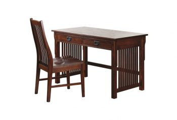 Picture of a Woodworks Heirloom Mission Writing Desk