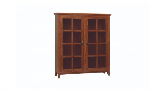 Picture of a Woodworks Mission Bookcase