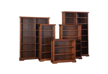 "Picture of Woodworks Stanford 48"" Wide Bookcases"