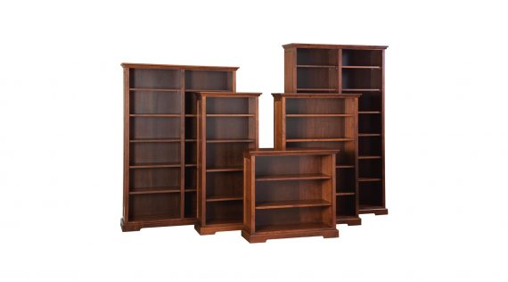 """Picture of Woodworks Stanford 48"""" Wide Bookcases"""