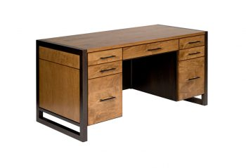 Picture of a Woodworks Sydney Double Pedestal Executive Desk