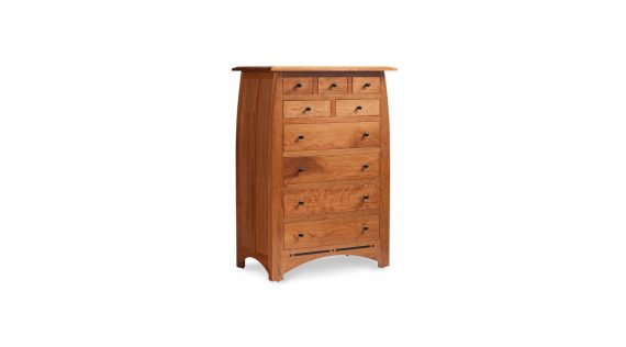 Simply Amish Aspen 9 Drawer Chest