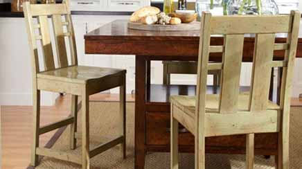 Picture of Wood Bar Stools