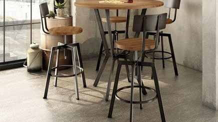Picture of Bar Stools in the Kitchen