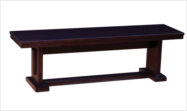 Picture of a small dining room bench