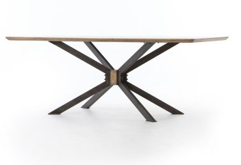 Picture of a Four Hands Spider Dining Table
