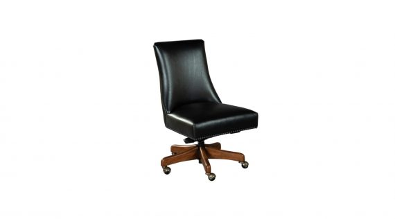 Picture of a Hekman Rounded Back Armless Desk Chair