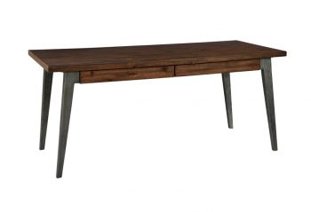 Picture of a Hekman Monterey Point Splayed Leg Desk