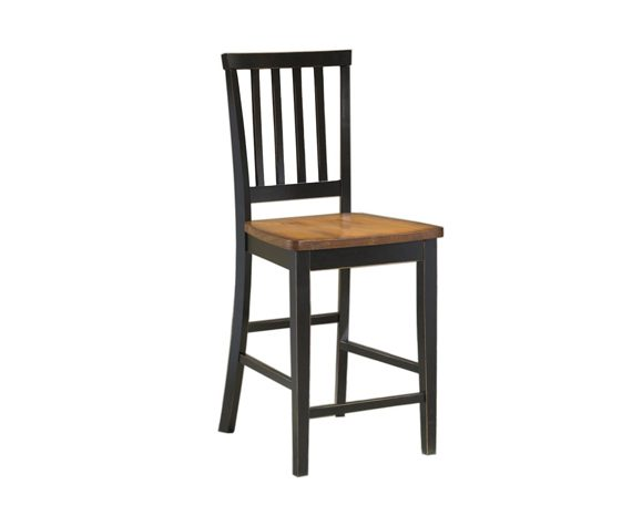 Picture of a Intercon Arlington Slat Back Counter Stool