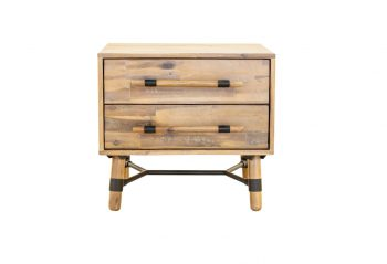Moe's Hudson 2 Drawer Nightstand